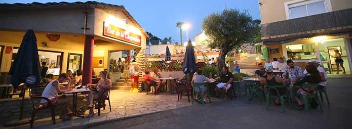 Bar la Chapoulière in the Ardèche