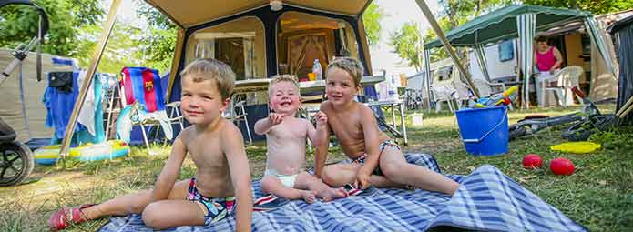 Family Camping in Ardèche