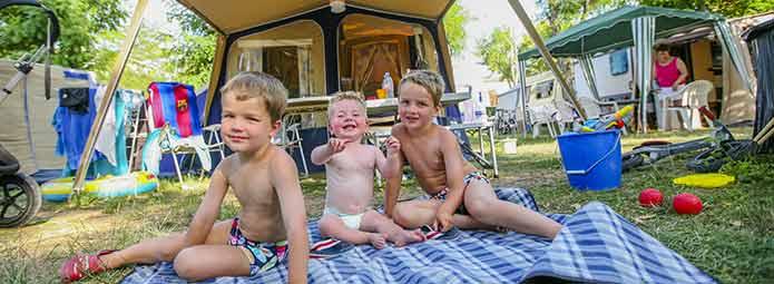 Familiencamping in der Ardèche