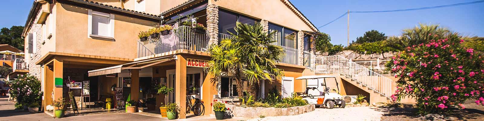 Entdeckungstour durch den Campingplatz Chapoulière in der Ardèche