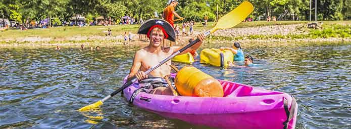 Canoe outings in Ardèche