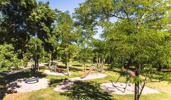 children playground Ardèche