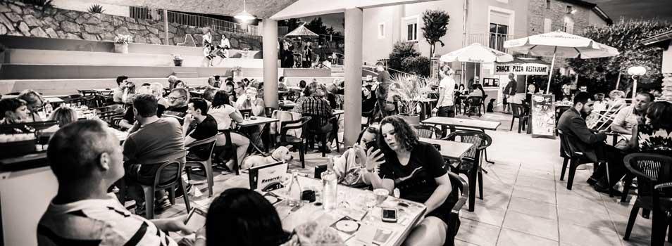 Buffet restaurant Ardèche