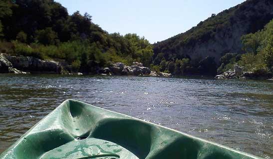 Croisière en rivière Ardèche