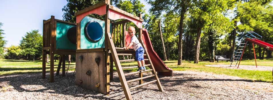 Child-friendly area campsite Ardèche