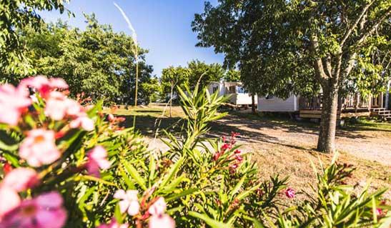 Unterkunft Campingplatz-Ardèche