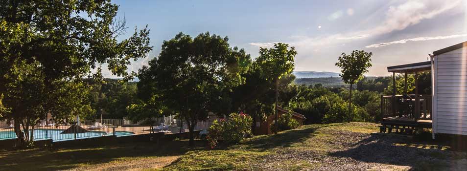 Location Mobil home pas cher Ardèche