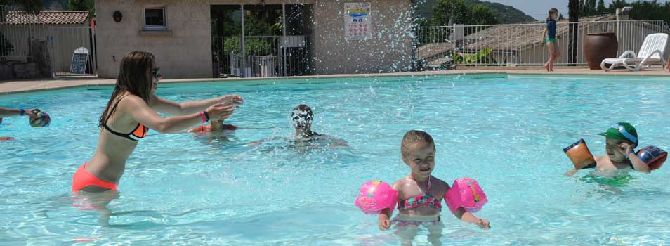 Zwembad voor kinderen Ardèche