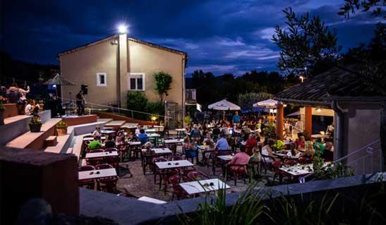 Restaurant Camping Ardèche