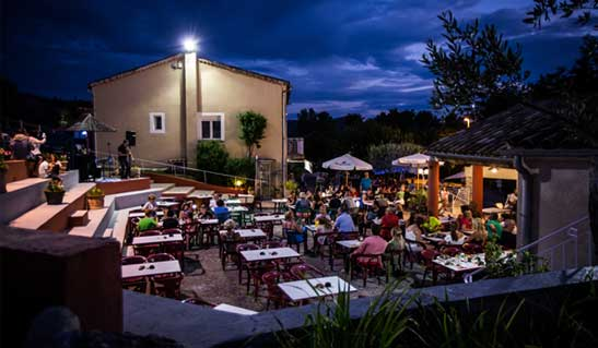 Restaurant Campingplatz Ardèche