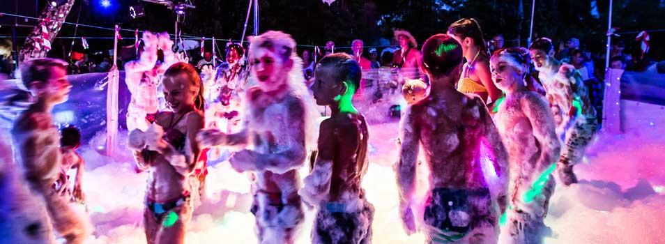 Evening entertainment for children Ardèche