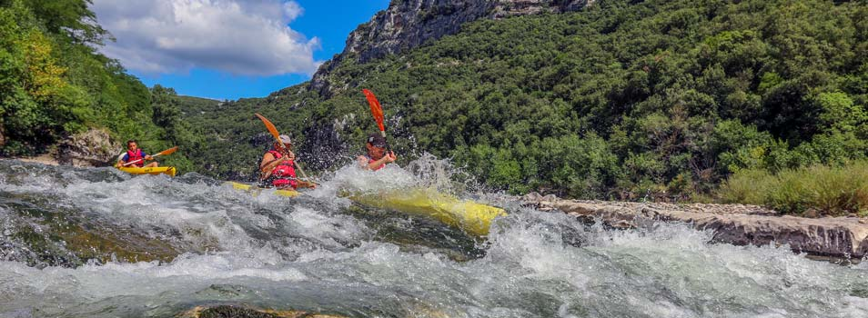 activity gorge ardeche campsite